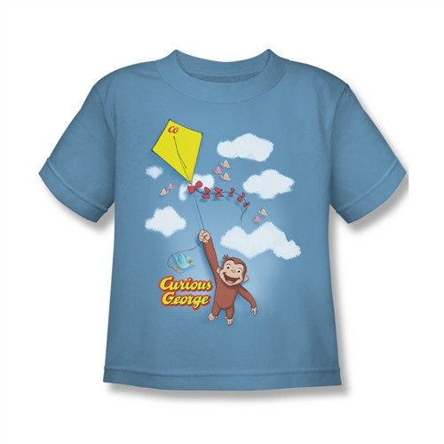 Image for Curious George Flight Kids T-Shirt