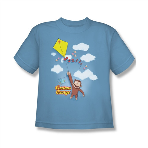 Image for Curious George Flight Youth T-Shirt