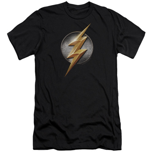 Image for Justice League Movie Premium Canvas Premium Shirt - Flash Logo