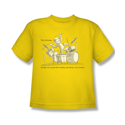 Image for Curious George This is George Youth T-Shirt