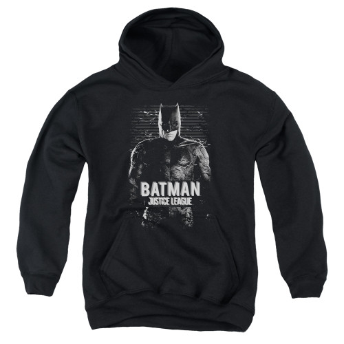Image for Justice League Movie Youth Hoodie - Batman