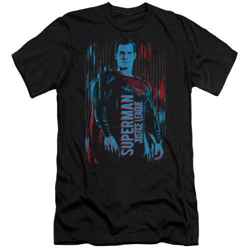 Image for Justice League Movie Premium Canvas Premium Shirt - Superman