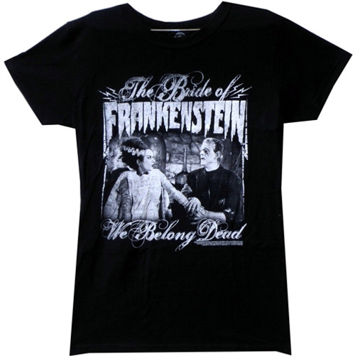 Image for Bride of Frankenstein Girls T-Shirt