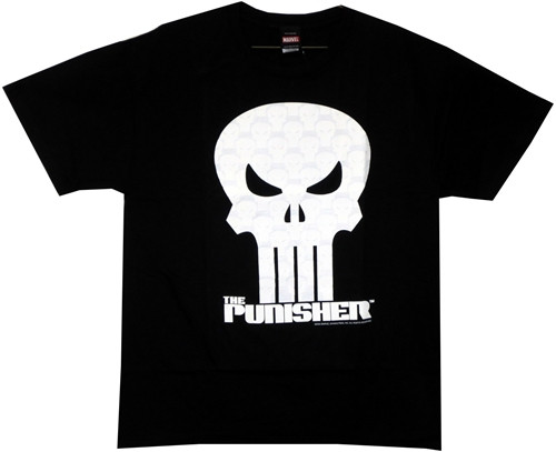 Image Closeup for Punisher T-Shirt - Crystallized