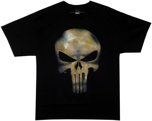 Image Closeup for Punisher T-Shirt - No Sweat
