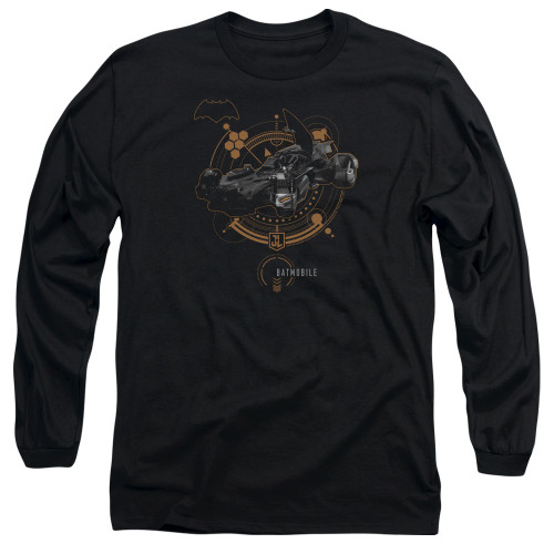 Image for Justice League Movie Long Sleeve Shirt - Batmobile