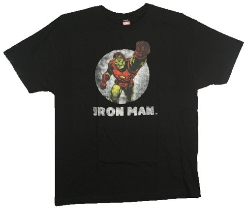 Image Closeup for Iron Man T-Shirt - Tetsu Punch
