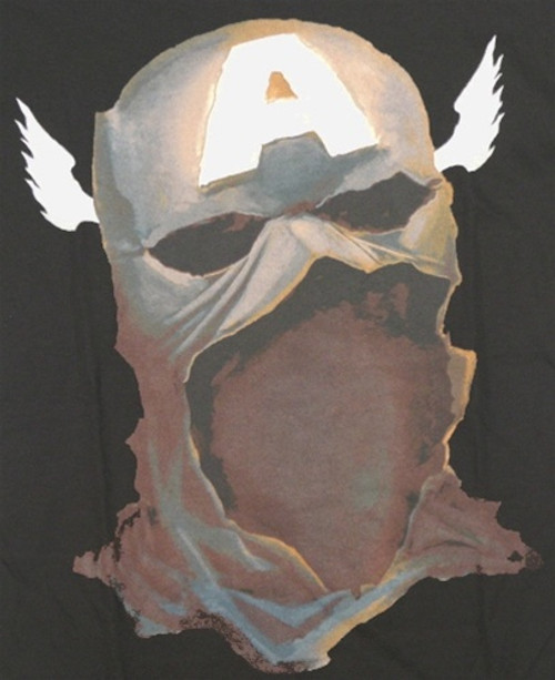 Image for Captain America T-Shirt - Mask
