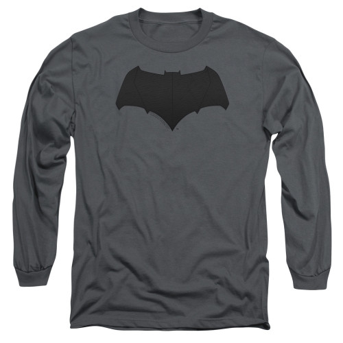 Image for Justice League Movie Long Sleeve Shirt - Batman Tone Logo