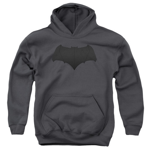 Image for Justice League Movie Youth Hoodie - Batman Tone Logo