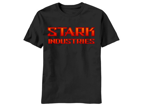 Image for Iron Man T-Shirt - Stark Industries Corporate Logo