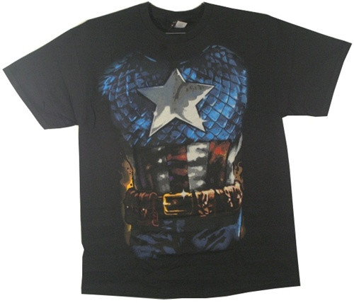 Image for Captain America T-Shirt - Costume