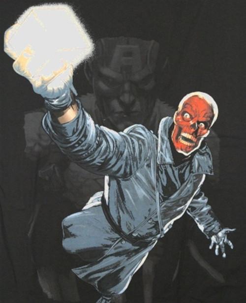 Image for Red Skull T-Shirt