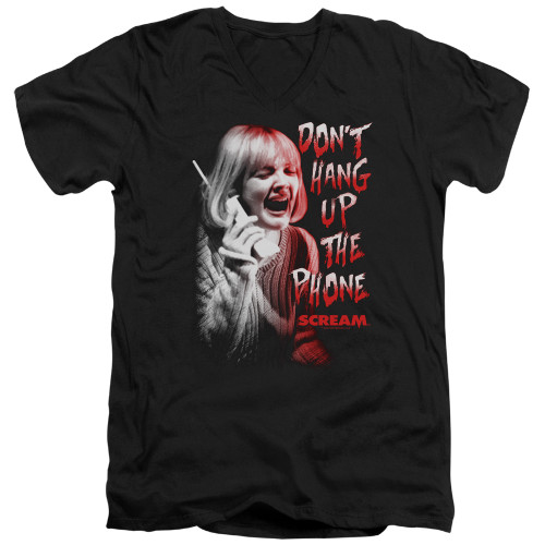 Image for Scream V Neck T-Shirt - Don't Hang Up