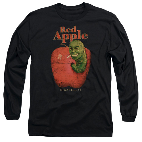 Image for Pulp Fiction Long Sleeve Shirt - Red Apple