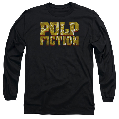 Image for Pulp Fiction Long Sleeve Shirt - Pulp Logo