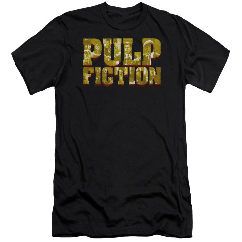 Image for Pulp Fiction Premium Canvas Premium Shirt - Pulp Logo