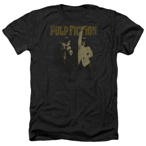 Image for Pulp Fiction Heather T-Shirt - I Wanna Dance
