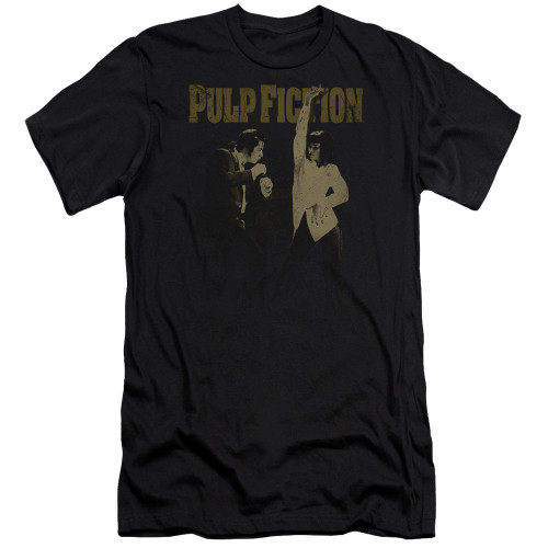 Image for Pulp Fiction Premium Canvas Premium Shirt - I Wanna Dance