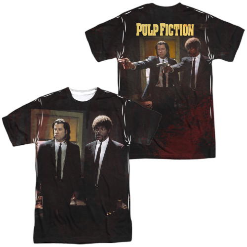 Image for Pulp Fiction Sublimated T-Shirt - Vincent and Jules 100% Polyester