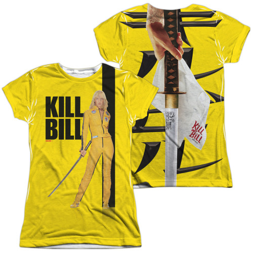 Image for Kill Bill Girls Sublimated T-Shirt - Poster
