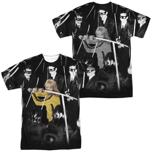 Image for Kill Bill Sublimated T-Shirt - Crazy 88s 100% Polyester