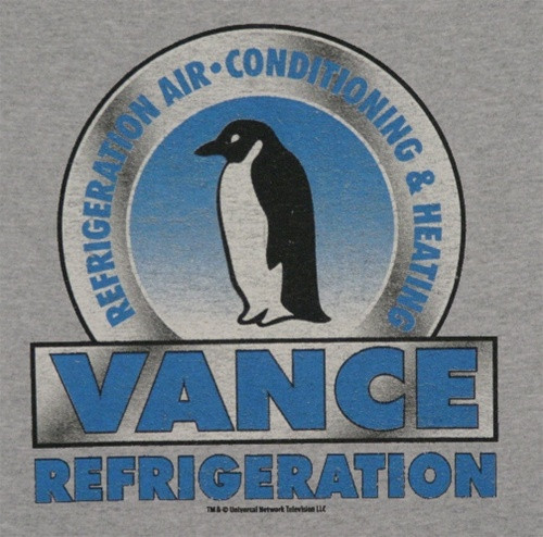 Image for The Office Vance Refrigeration T-Shirt