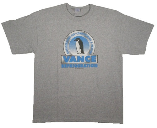 Image Closeup for The Office Vance Refrigeration T-Shirt
