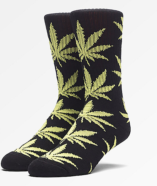 Image for PlantLife Crew Socks - Black