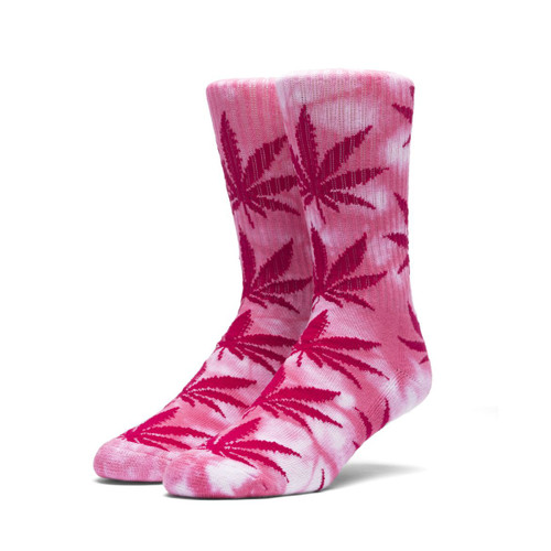 Image for TieDye PlantLife Crew Socks - Pink