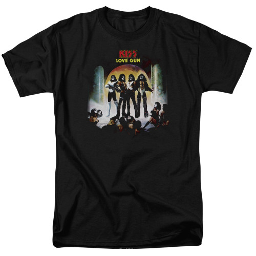 Image for Kiss T-Shirt - Lover Gun Cover