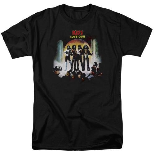 Image for Kiss T-Shirt - Lover Gun Cover