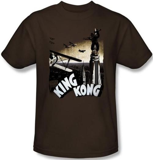 Image Closeup for King Kong Final Battle T-Shirt