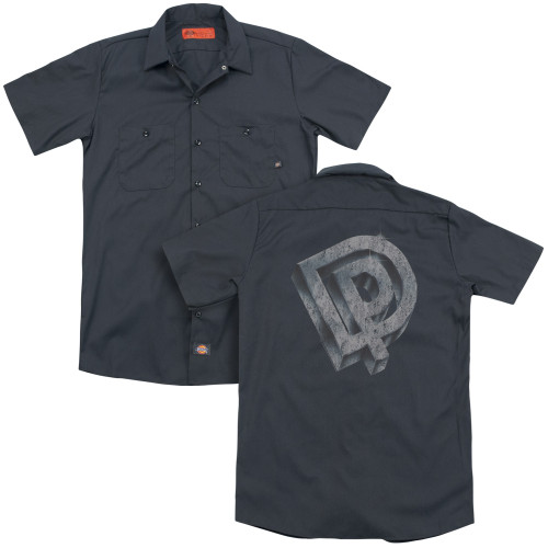 Image for Deep Purple Dickies Work Shirt - Logo