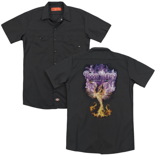 Image for Deep Purple Dickies Work Shirt - Phoenix Rising