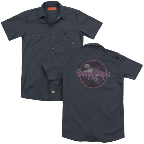 Image for Deep Purple Dickies Work Shirt - Smoke on the Water