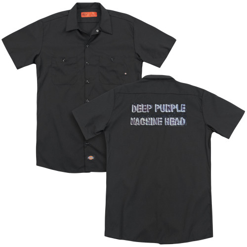 Image for Deep Purple Dickies Work Shirt - Machine Head