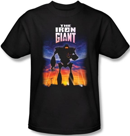 Image for The Iron Giant Poster T-Shirt