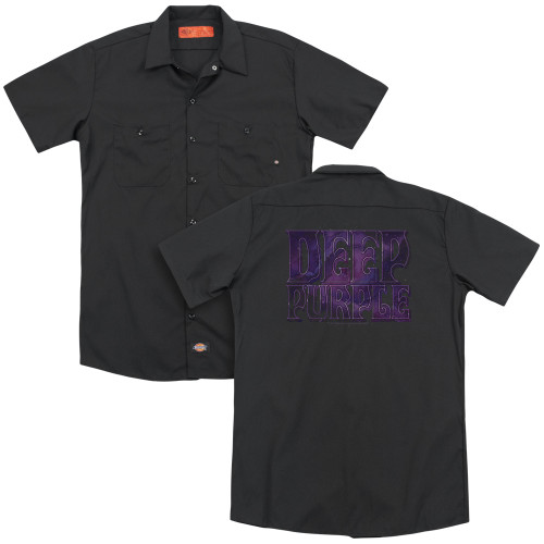 Image for Deep Purple Dickies Work Shirt - Spacey