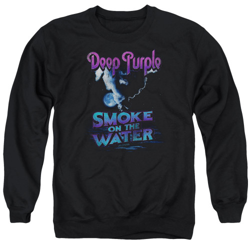 Image for Deep Purple Crewneck - Smokey Water