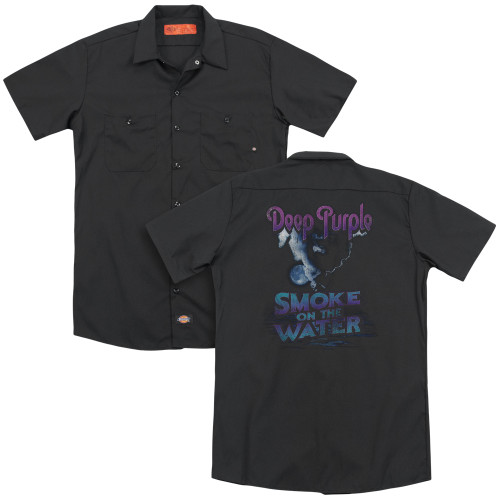 Image for Deep Purple Dickies Work Shirt - Smokey Water