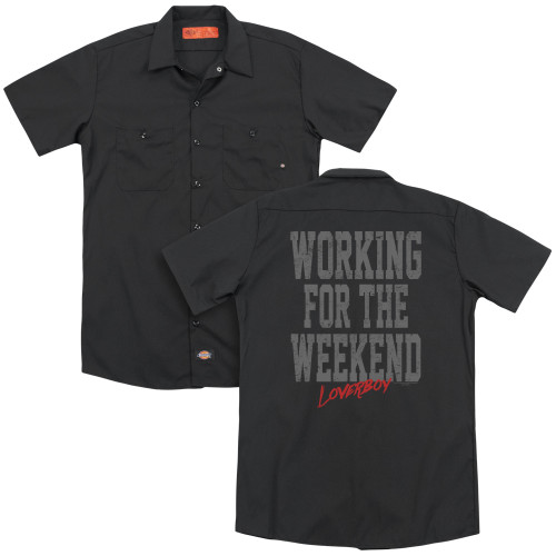 Image for Loverboy Dickies Work Shirt - Working