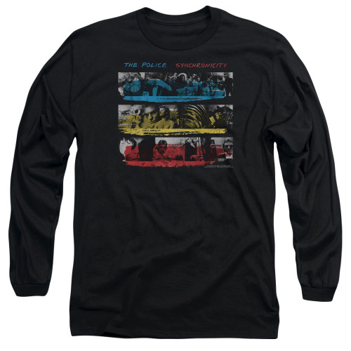Image for The Police Long Sleeve Shirt - Syncronicity