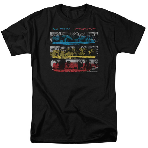 Image for The Police T-Shirt - Syncronicity
