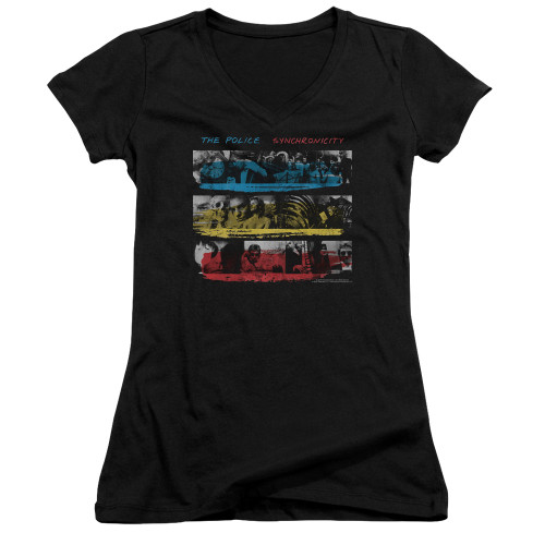 Image for The Police Girls V Neck - Syncronicity