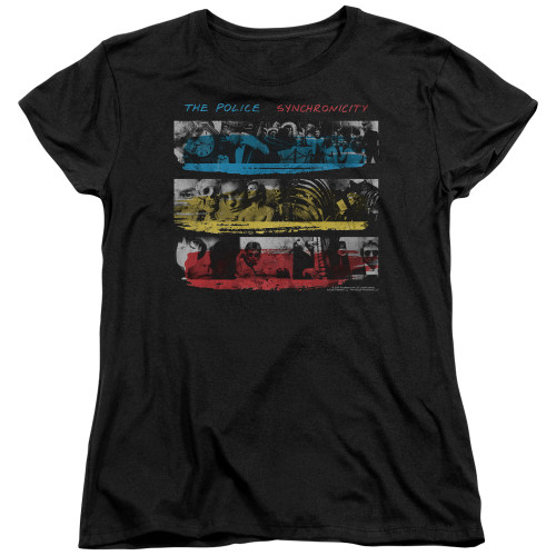 Image for The Police Womans T-Shirt - Syncronicity