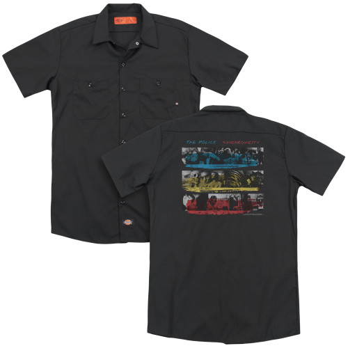 Image for The Police Work Shirt - Syncronicity