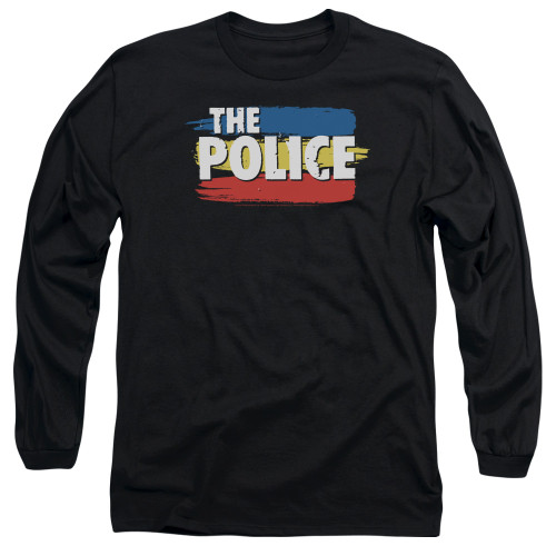Image for The Police Long Sleeve Shirt - Three Stripes