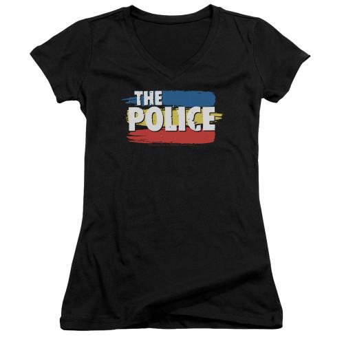 Image for The Police Girls V Neck - Three Stripes