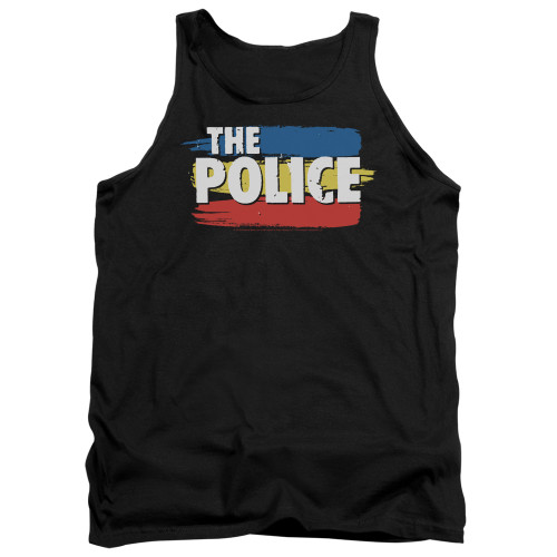Image for The Police Tank Top - Three Stripes